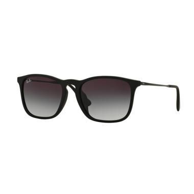 186fe24eefde8 ... promo code for ray ban 622 8g f rb4187f chris sunglasses nero gommato  e7fdd 03928