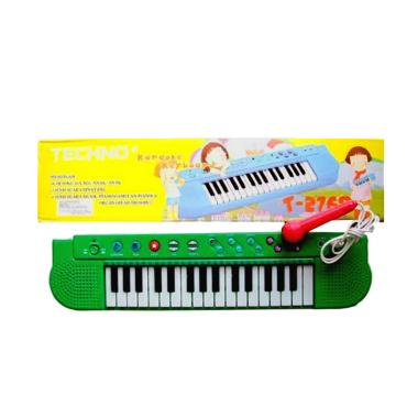 Tecnho Karaoke Keyboard T-2768 Mainan Piano - Multi Colour