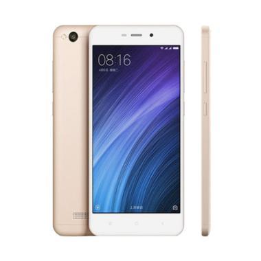 Xiaomi RedMi 4A Smartphone [16GB/ RAM 2GB] 13MP Camera Big Battery 3120 Mah Hp Xiaomi 4A- Gold
