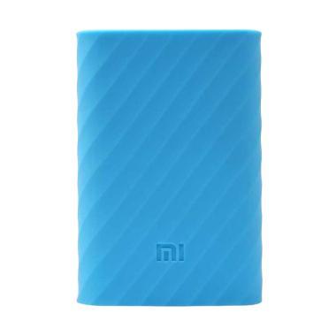 Xiaomi Silicone Casing for Xiaomi Powerbank 10000 mAh - Biru
