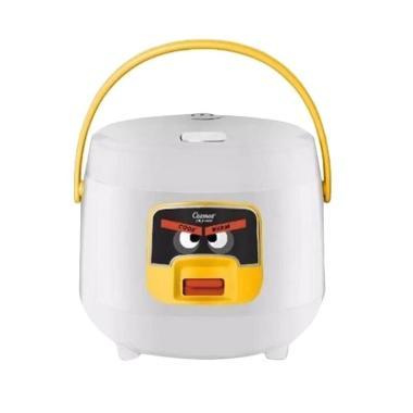 Cosmos CRJ6601 Rice Cooker - White [Harmond Technology/0.8 L]