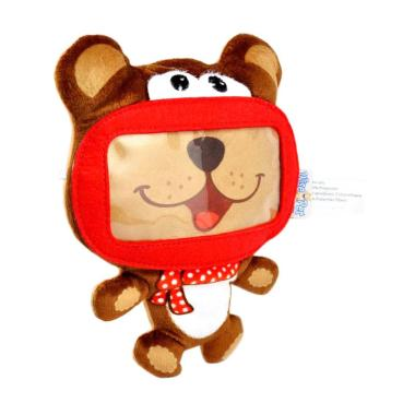 Wise Pet for Smartphone Mini Bear Coklat Mainan Anak