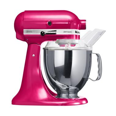 FREE GLASS BOWL Kitchen Aid 5KSM150PSERI Rasberry Ice Standing Mixer