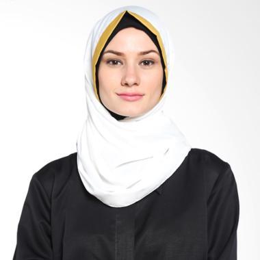 Tatuis Pashmina Damour 048 Pashmina Hijab - Broken White