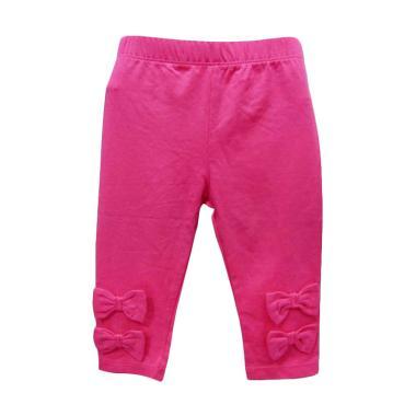 Import Kid Pita Celana Legging Bayi Perempuan - Pink