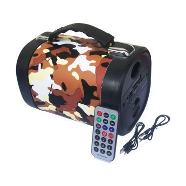 Advance TP-700BT Army Portable Bluetooth Speaker - Coklat