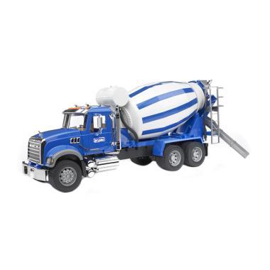 Bruder Toys 2814 MACK Granite Cement Mixer Truck Diecast