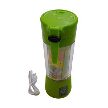 Gogo Model Portable USB Rechargeable Juicer Blender - Hijau