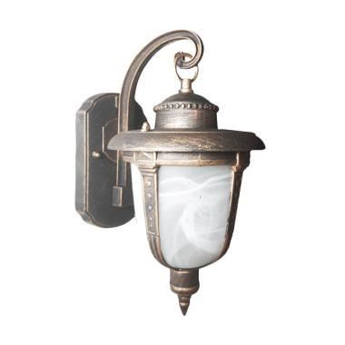 Best Lighting Taman D21 AB Antique Brass Lampu Dinding