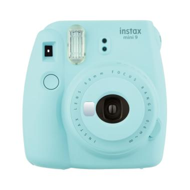 Fujifilm Instax Mini 9 Instant Film Camera - Biru Muda Fujishopid