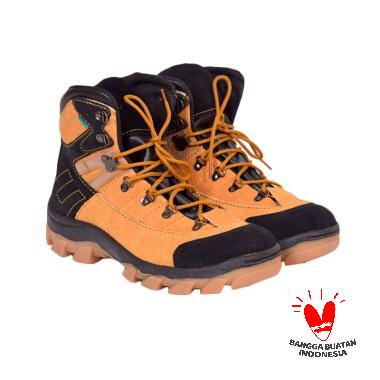 Azcost Aviator Safety Sepatu Boot Pria - Tan