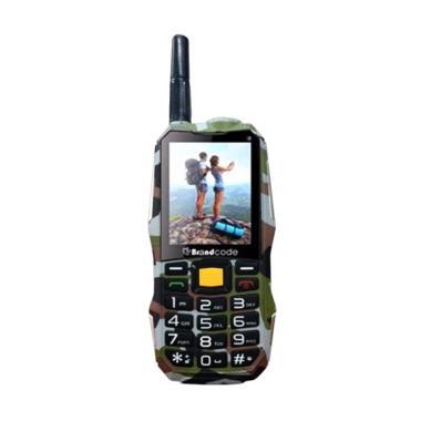 Brandcode B81 Army Camouflage Handphone - Grey [Dual SIM/ 10000 mAh]