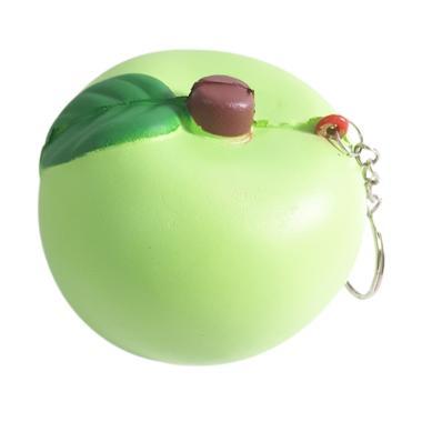 Chocobi Slime Medium Juicy Apple Squishy - Green