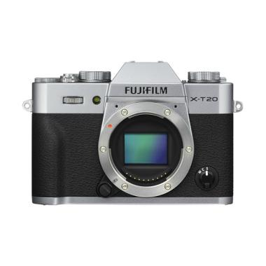 Fujifilm X-T20 Body Only Kamera Mirrorless - Silver