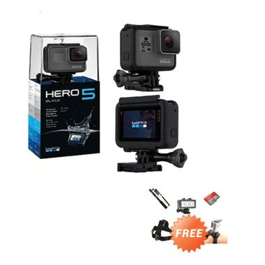 GoPro HERO5 Action Camera - Black [Paket Diving]