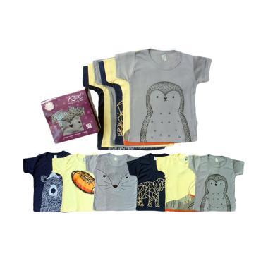 Kazel T-shirt Penguin Edition Atasan Anak [6 pcs]