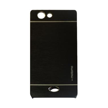 Motomo Metal Hardcase Casing for Oppo Neo 5/R1201/A31/A31T - Hitam