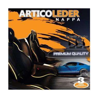 Articoleder Nappa Cover Jok Mobil [3 Baris Jok Jumbo]