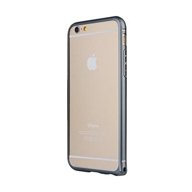 Baseus Arc Bumper Metal Casing for iPhone 6 Plus or 6S Plus - Grey