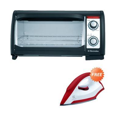 Paket Electrolux EOT 3000 Oven Toaster + EDI 1004 Setrika