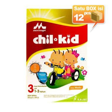 Morinaga Chil Kid Madu 2x400gr Susu Formula [12pcs/karton]