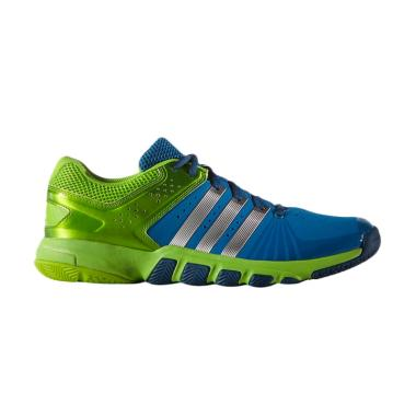 adidas Speed Takes Quickforce 5.1 Sepatu Badminton - Green (AQ2375)