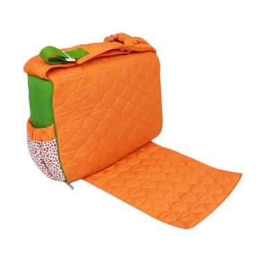 Dialogue Baby 4in1 Polka Series Tas Bayi - Orange