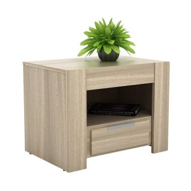 Pro Design Oregon Meja Nakas - Light Oak [Khusus Jawa]