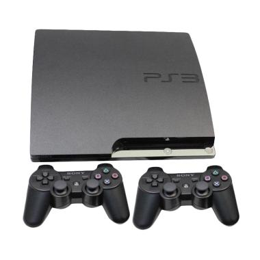 Sony PS3 Slim  Full Game Console OFW + 2 Stick [HDD 160 GB ]