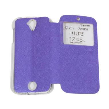 UME Flipshell / Flip Cover Casing f ... Handphone / View - Purple
