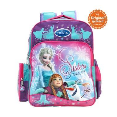 Disney Frozen Sisters Forever Medium Backpack Tas Anak - Pink