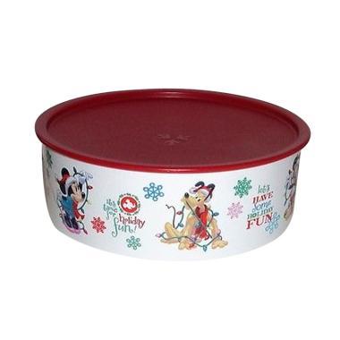 Tupperware Disney Stacking Cookies Canister Tempat Penyimpanan Makanan