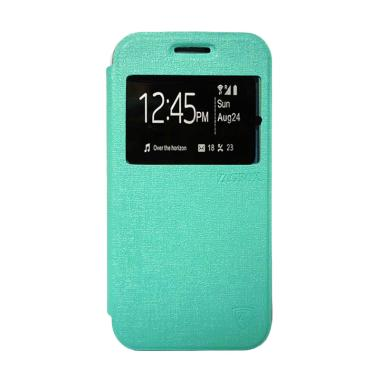 ZAGBOX Flip Cover Casing for Oppo Neo 5 or A31 - Hijau Tosca