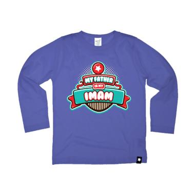 Afrakids AF135 My Father Is My Imam Kaos Anak Muslim - Ungu