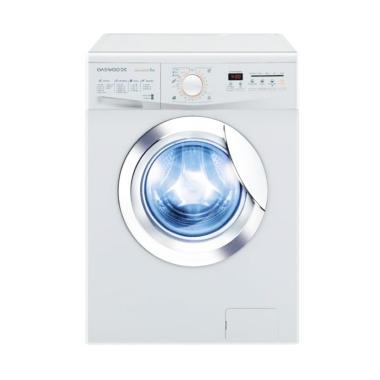 Daewoo DWD-M8741 Washer Mesin Cuci - Putih [7 kg/Front Loading]