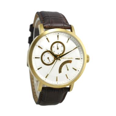 Pierre Cardin PC107551F03 Jam Tangan Pria - Coklat Ring Gold