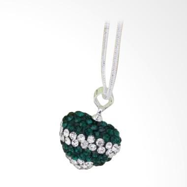 Bella & Co Necklace LKNSBN108 Aksesoris Kalung Lapis - Silver