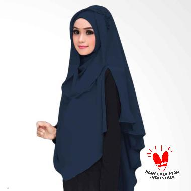 Kus Group Hijab Oki Panjang Kerudung Syar'I - Navy