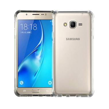 Case88 Anti Crack and Anti Shock Casing for Samsung Galaxy J7 - Clear
