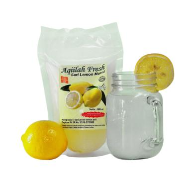 Aqiilah Fresh Sari Lemon Murni Minuman Herbal [500 mL]