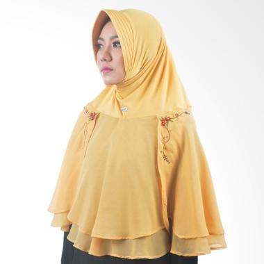 Atteena Hijab Alifa Rafiqah Medium Jilbab Instant - Emas