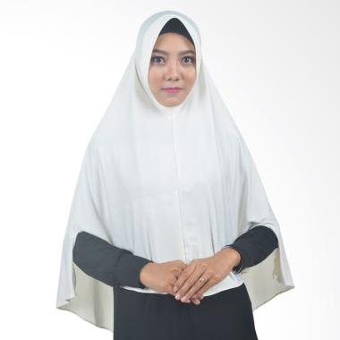 Atteena Hijab Sayyidah Jilbab Instant - Broken White