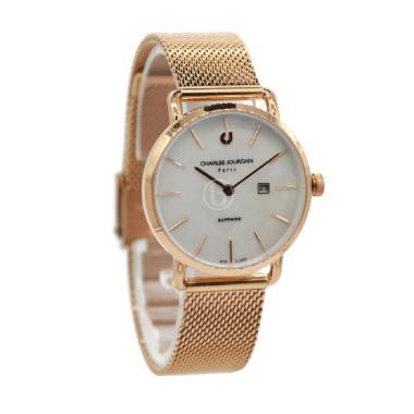 Charles Jourdan CJ1002-2572 Jam Tangan Wanita - Rose Gold
