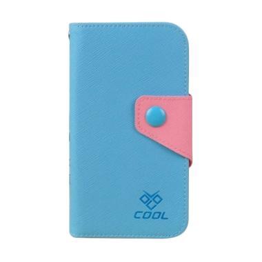 OEM Case Rainbow Cover Casing for Sony Xperia Z1 mini - Biru