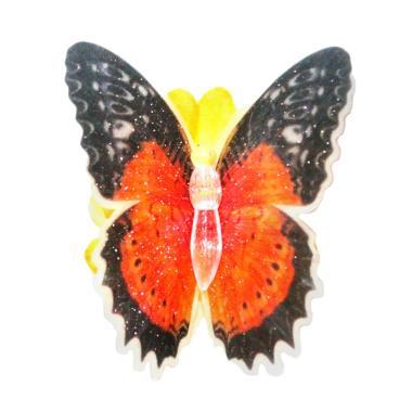 Lampu Tidur Hias Kupu-kupu Dekorasi Rumah Lampu LED - Multicolor