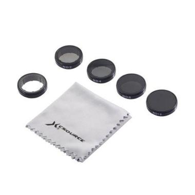 Xcsource LF751 Set Filter Lensa for Gopro HERO 3/3+/4 - Black