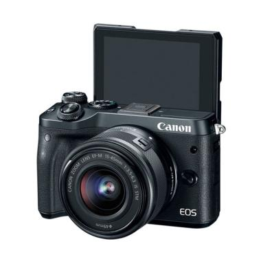 Canon EOS M6 Mirrorless Digital Cam ... FREE Extra Battery LP-E17