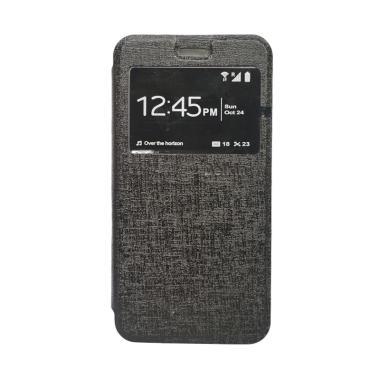 Delkin Flip Cover Casing for Xiaomi Redmi 3S or Pro - Hitam