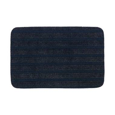 Ikea Borris Door Mat Keset Pintu Non Slip - Biru Tua [38 x 57 cm]