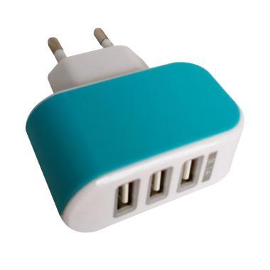 Batok USB 3 Port Output 3.1A Charger Adaptor